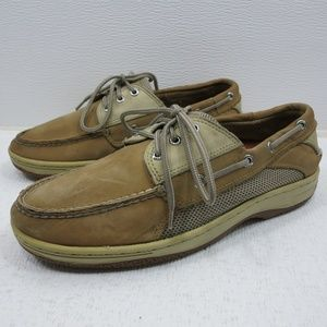 Sperry Top-Sider Nubuck Leather Fabric Deck 9 M